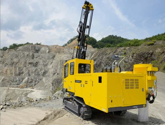 Atlas Copco Surface drill rigs PowerROC T25 DC