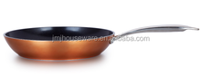 Forged copper aluminum ceramic coating fry pan