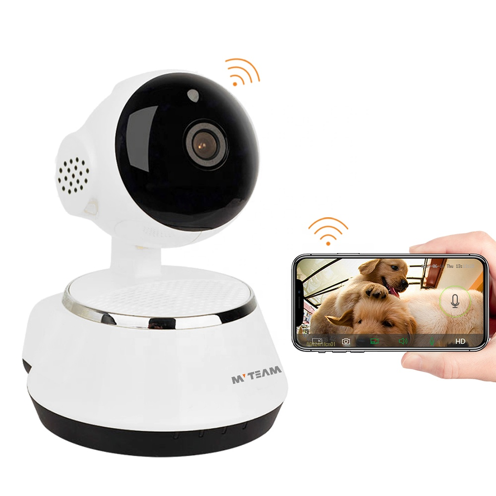 WiFi Wireless P2P Smart Home IP CCTV Camera 2MP/4MP Pet Dog Camera WiFi with Free iOS Android APP