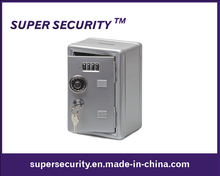 Metal Locker Bank Safe Money Box with Combination Lock (STB1911)