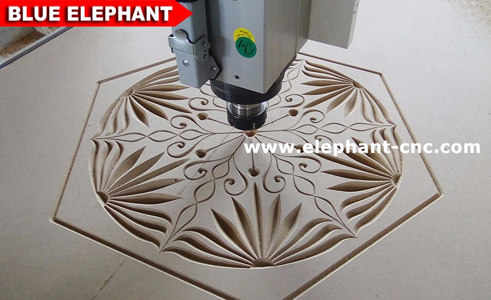 Air cooling spindle 3000*1500 router , 1530 multi-use woodworking machine , 3d cnc wood sculpture