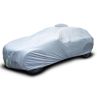 Cheapest car cover full body waterproof 100% UV protection remote control automatic car covers