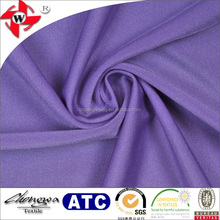 Light Purple Warp Knitting Shiny Poly Spandex Fabric for Swimwear/Cycling Clothes