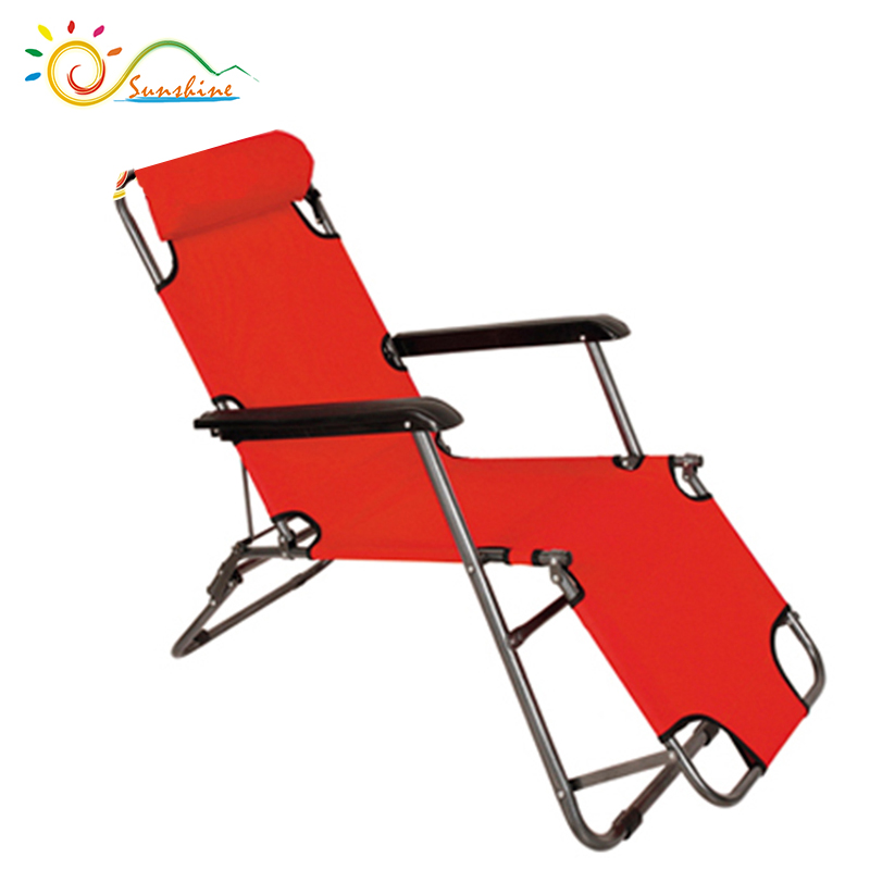 Folding Durable Srong lounge relaxing foldable leisure chairs with recliner function
