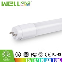 2012 new save energy IP63 level 6000k 105lm/w 1500m fluorescent tube 8 led t8 tube light