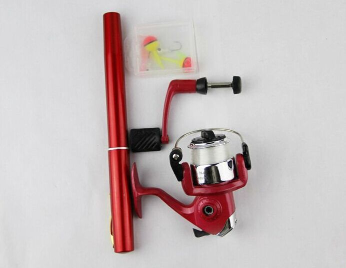 Pen Shaped Telescoping Fishing Rod