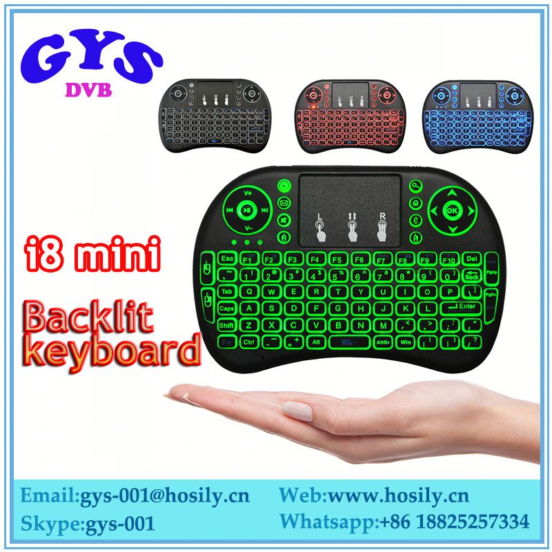 I8 2.4 ghz mx3 2.4g 3d air mouse wireless mini i8 keyboard and fly air mouse touchpad for android tv box