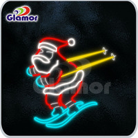 LED Cheap Christmas rope light Santa Claus Motif