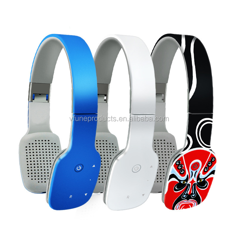 Wholesale OEM Over Ear Wireless Foldable Handfree Earphone Headphones Sport Headphones