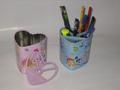 metal mesh pen pencil holder