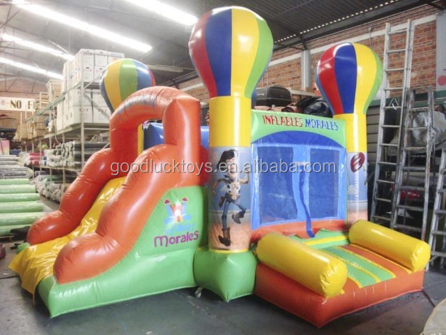 commercial inflatable balloon dazzle bouncer combo for sale, wholesale inflatable castle combo Jumper