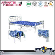 Kids bed bedroom furniture/simple design foldable bed on sale