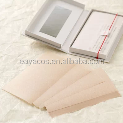 Oil blotting paper face beauty care product