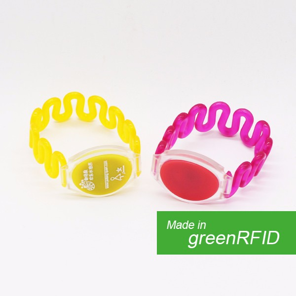 ISO Standard Party Event NFC Bracelet/Silicone RFID Smart Wristband Tag