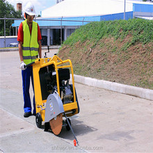 walk behind gasoline asphalt Concrete road cutter Road Cutting Saw