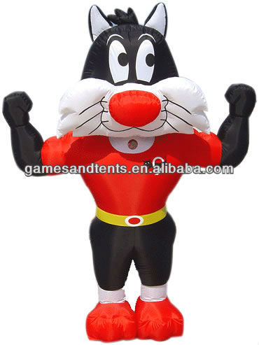 high hot inflatable costume cat F6001