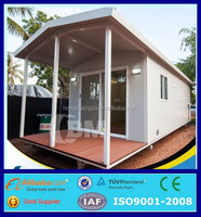 prefab mobile office building modular portable log cabin for sale