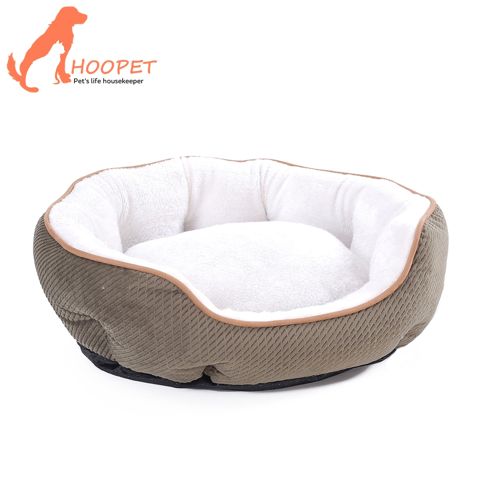 Lovely plush Cheap winter warm slipper pet bed for dog use