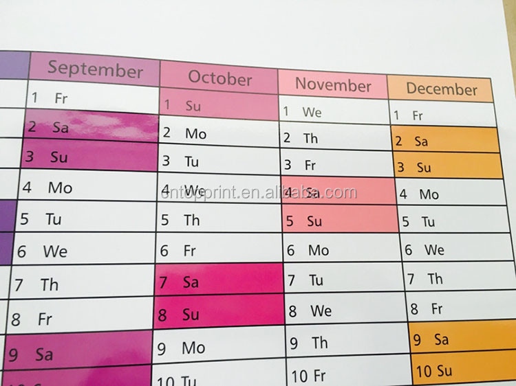 Large Weekly Dry Erase Planning Calendar