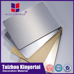 Alucoworld best sell fine workmanship aluminum exterior wall panels acm construction material