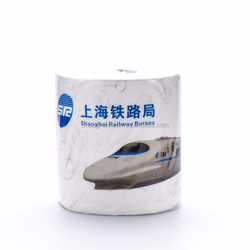 Toilet tissue paper 1 ply virgin wood pulp core factory custom printed toilet tissue paper tissue for UK market