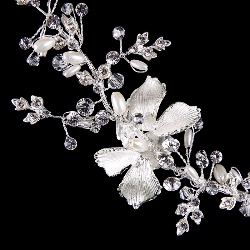 Wedding silver alloy butterfly shinning wedding bridal accessory tiaras <strong>crowns</strong> wholesale