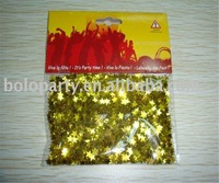 wholesale golden star shape party confetti for decoration and party