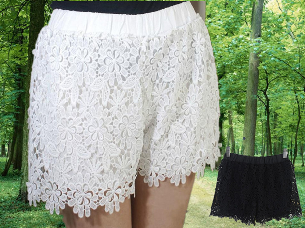 Cheap White Lace Crochet Shorts Find White Lace Crochet Shorts