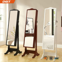 exotic style home furniture, wooden jewelry cabinet with mirror