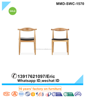 Hotel furniture Replica hans wegner chair Round Chair