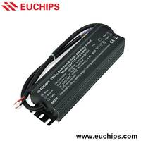 manufacturer supply 75w 200-240VAC 6.2A 1 channel waterproof IP67 constant voltage triac dimmable led driver