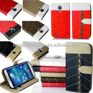 Hot Sales Flip PU Leather CASE Cover Smart Wallet Stand View For SAMSUNG GALAXY S4 S IV i9500