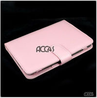 Pink Litchi Veins Soft Leather Pouch Case for BLACKBERRY PLAYBOOK, P-BBPLAYBOOKCASE001