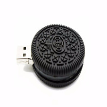 low cost mini usb flash drives 4gb 8gb 16gb pvc oreo cookie usb flash drive
