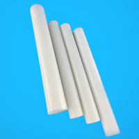 White delrin extruded pom acetal rod