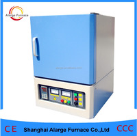 CE Approval electric resistance furnace mini muffle furnace with Slide door