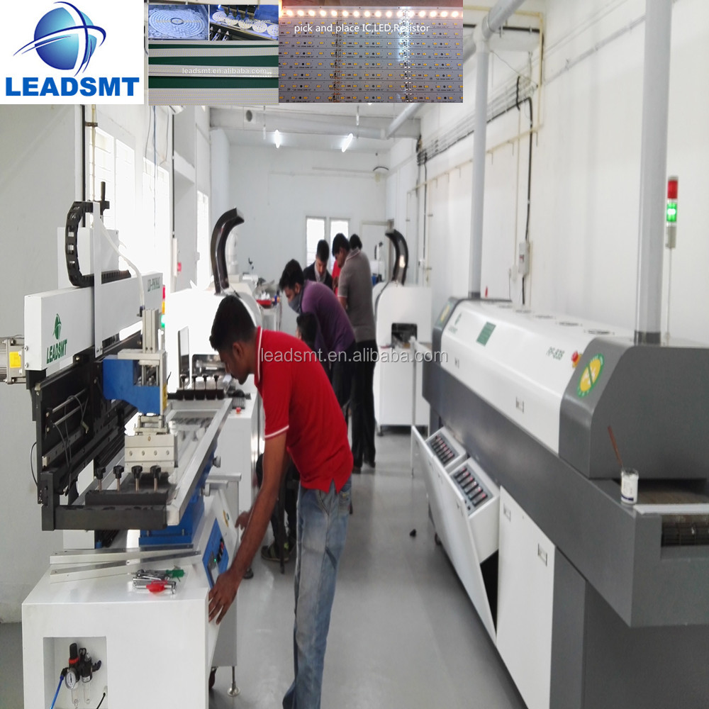 2016 smd assembly line ,led smd pick and place machine