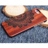 newest arrival wooden cell phone covers/cases for iphone 7 plus,hot 2017