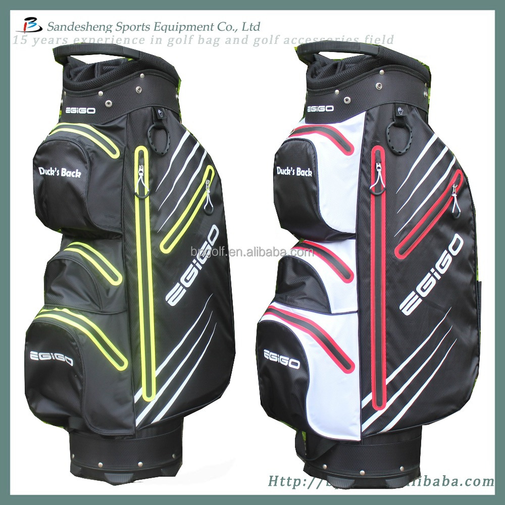 100% ture caddy waterproof golf bag,waterproof nylon golf dry bag