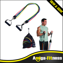 Gym Fitness Equipment 2017 Weight Loss Body Building Latex Resistance Bands Workout Exercise Pilates Yoga Fitness Tube Pull Rope