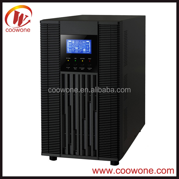 Factory High frequency LCD IGBT uninterruptible power supply 3KVA UPS