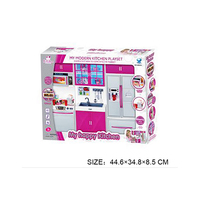 Girl Musical happy kitchen set toys