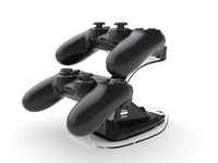 Dual USB Charger Dock Charging Station for Playstation 4 PS4 Controller