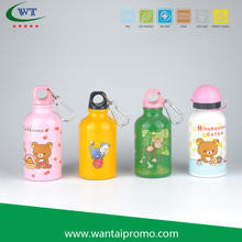 Custom Printing Aluminium Sports Clear Water Insulated Bottle