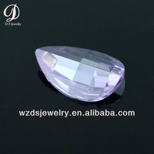 Wholesale AAA Special Shoe Shape Lavender Lab Synthetic Cubic Zircon Stone CZ Gems Loose Gemstone Beads for Jewelry