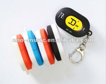 Hot-selling Keyring Universal Chromatic Tuner