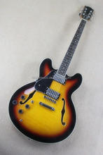 Weifang Rebon es335 left hand jazz electric guitar