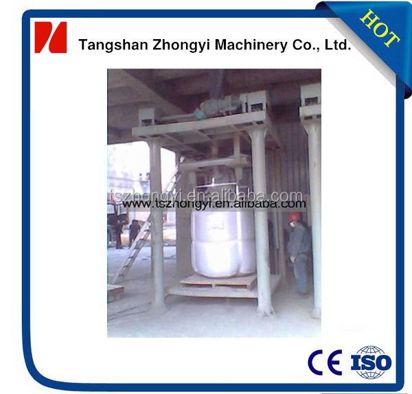 Semi-automatic 1-2t big bag plaster packaging machine