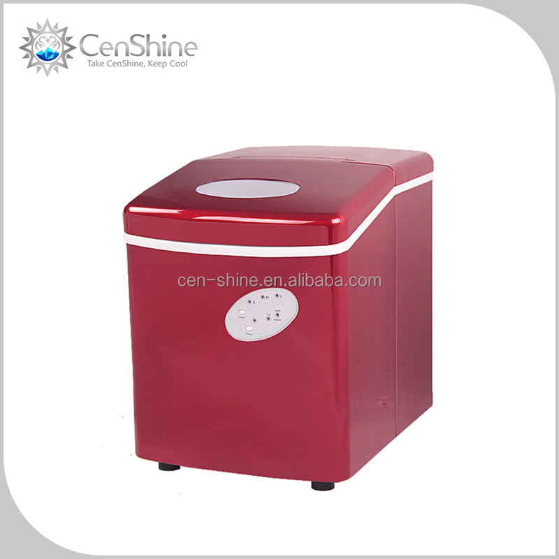 Luxury Pellet Ice Maker With Whirlpool Design For Home Use