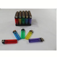 China factory cheap price FL-601 transparent color plastic disposable flint heaters that plug into cigarette lighter
